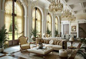 Bộ sưu tập mẫu thiết kế nội thất cổ điển sang trọng